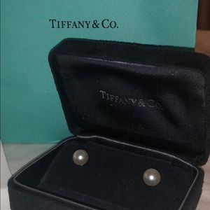 Tiffany & Co. pearl earrings